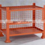 steel mesh container/wire storage cage