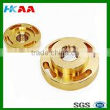 High quality brass CNC machining auto spare parts, precision cnc turning brass parts,CNC machinery component