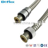 yuyao Doflex OEM New Design Fashion Style ACS SGS CE Certificated High Pressure 304 stainless steel shower hose