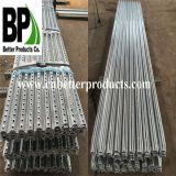 Outdoor Perforated Traffic Steel U Shaped Posts for Safety Control