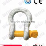 Factory supply marine hardware bow shackles with safety bolt