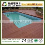 Outdoor cheap price Wood Plastic Composite Board anti-uv terrace Composite Solid Decking