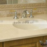 Pearl white bathroom granite countertop
