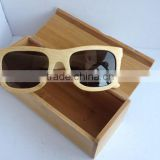 High quality hot wooden sunglasses bamboo sunglasses with box