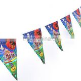 Colorful Halloween Triangle String Flag Bunting Halloween Party Scene KTV Bar Decoration