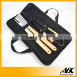 3Pcs BBQ Tool Barbeque Set Portable BBQ Bag