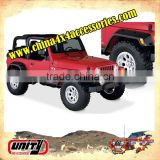 Off road car 4x4 accessories car fender flare wheel arch flare wheel trims for Wrangler TJ