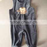 baby siamese pants/trousers, baby romper , baby long pants with footie