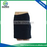 Simple Design Black Women Golf Short Skirt , Slim Fit Popular Golf dress