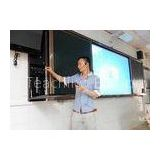 Student Electronic White Board , Multimedia Interactive Whiteboard with Sliding Green Board