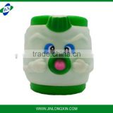 Plastic Animal Figurine Head Cups For Boys and Girls