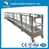 Aluminum construction swing stage ZLP800 Thailand