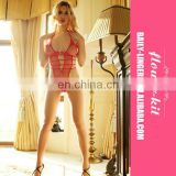 New design factory manufacture red mature women sexy lingerie