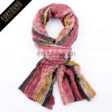 Mixed Color Knitted Scarf For 2014