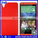 Hot selling Rubberized Coated PC Hard Back Cover Case for HTC Desire 820 D820u (Red)