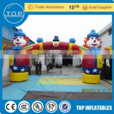 TOP advertising blimp wedding arch flower inflatable finish line for kids and adults