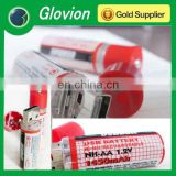 Promotion gifts Built-in USB port AA rechargeable battery,1.2V USB batteries
