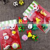 Christmas Eraser set