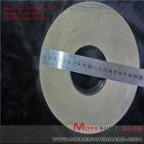 Metal bond diamond grinding wheel machining magnetic material   Alisa@moresuperhard.com
