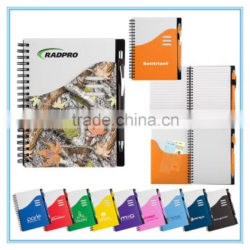 children book printing PP cover spiral notebook a5 cheap ...