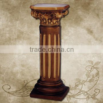 Frp Decoration Roman Column Pillar PU Home Decor Decorative Pillars And