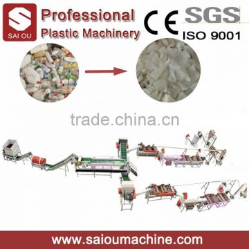 HDPE recycling equipment, plastic bottle HDPE recycling