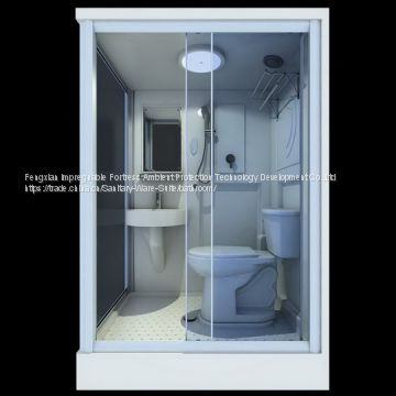 Prefabricated bathroom pods for container houses hotels home remodelling homestays ...