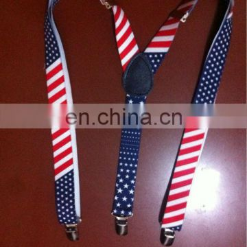 fashion suspender with US flag BLT-25785