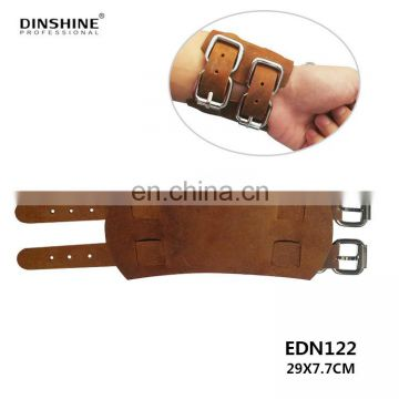 hot selling 2017 amazon hairdressing leather wrist band for barber