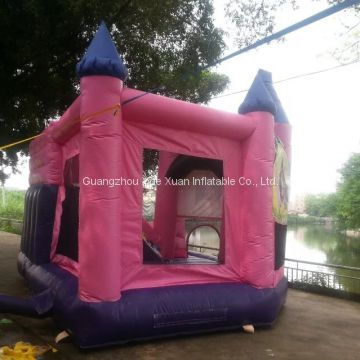 Hot sale inflatable  princess bounce bed, inflatable jumping house for kids