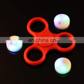 Wholesale Drop Shipping Funny Fidget Spinner with RGB LED Light,Steel Beads Bearing