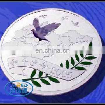 Simple Colorful Metal Crafts Coin for Souvenir
