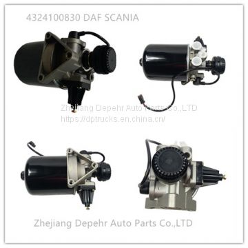 Zhejiang Depehr Heavy Duty European Tractor Brake System DAF Scania Truck compressed Air Dryer Assy 4324100830