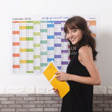 Updated Big Size Dry Erase Wall Calendar 36