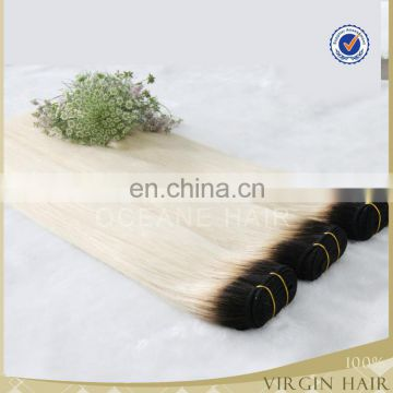 Best quality 100 human hair two tone hair extension wholesale