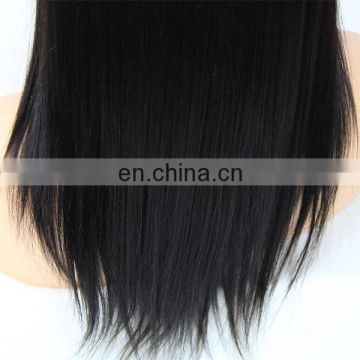 Youth Beauty hair 2017 top quality wholesale price fashionable brazilian virgin human hair full lace wig in silky straight