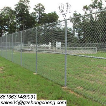 Corrosion proof vinyl coated fencing used chain link fence for sale