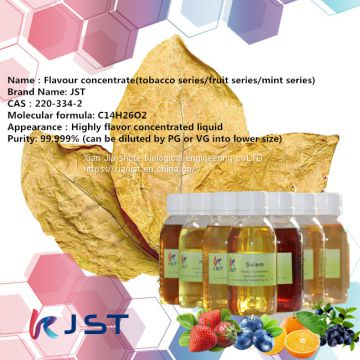 Flavour concentrate fruit series tobacco flavor and mint flavor purity99.999%