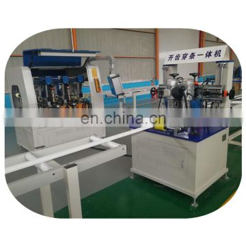 PA Aluminium Thermal break assembly crimping equipments for extrusion factory