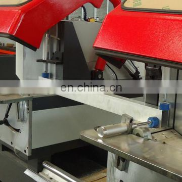 Automatic window frame cutting aluminum window machine