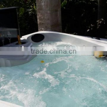 New Hot Sale Lucite Hydro Hot Tubs Jazzy Balboa SPA (S601)