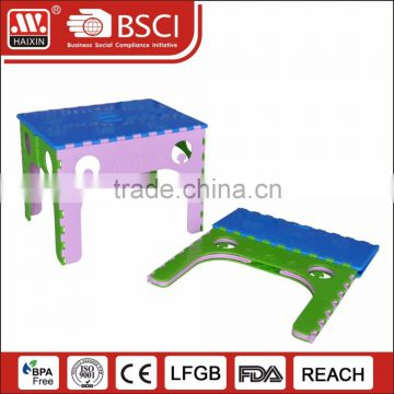 mini plastic folding table for outdoor indoor