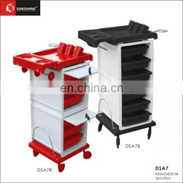 Practical Beauty trolley hair salon trolley furniture used nail salon furniture