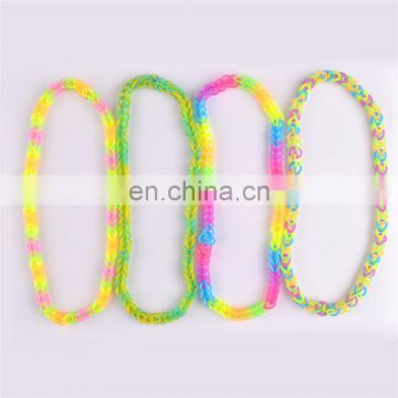 promotion silicone gift double twisted bracelet