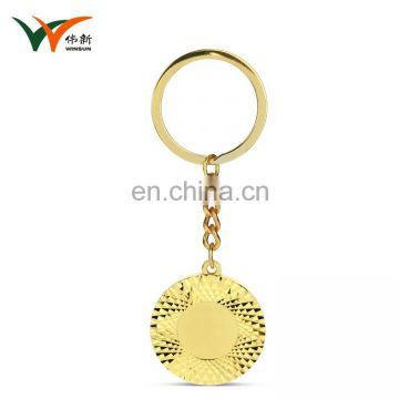 Custom logo design your own turbo promotional key chain