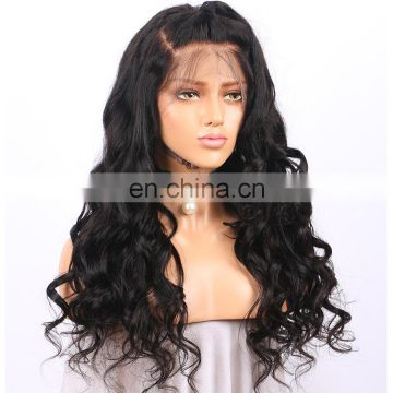 Handmade cheapest full lace remy virgin 100% human hair wigs