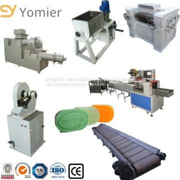 Engineers Service Provided  Industrial China Soap Bar Machines Plant