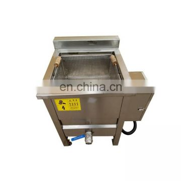 Potato peanut deep frying machine