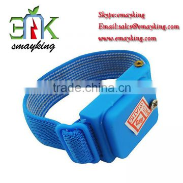 Back To Search Resultstools New Anti Static Antistatic Esd Cordless Wrist Strap Band Blue Free Shipping Volume Large