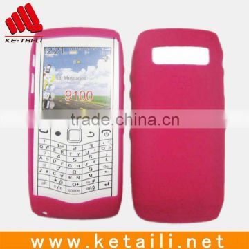 high grade Silicone mobile phone holder for BB 9100/red color/many colors available
